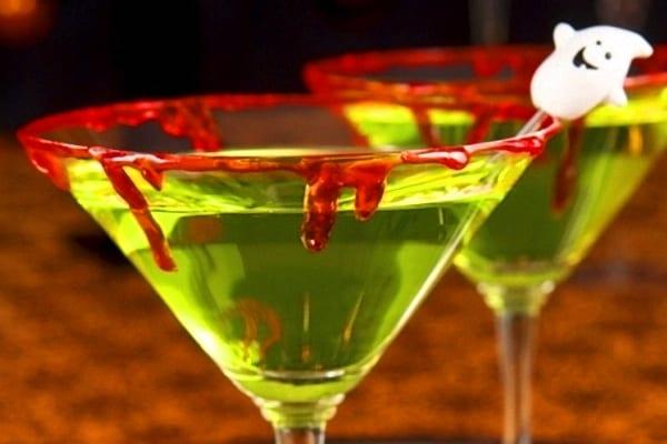Cocktail sin alcohol para Halloween