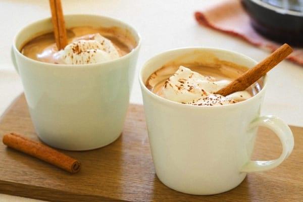 Cafechoc caliente