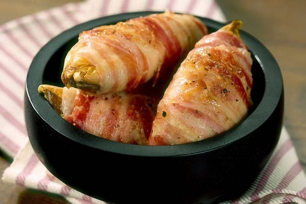 Endivias gratinadas con bacon y varios quesos