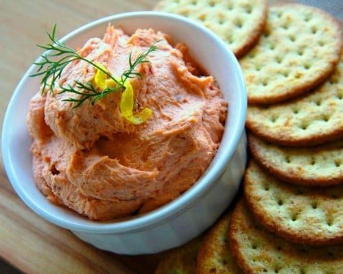 Pat de salm n ahumado un aperitivo ideal recet n - Aperitivos de salmon ahumado ...