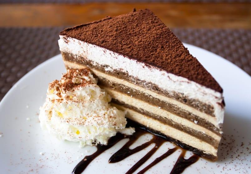 Tarta blanco y negro (chocolate y queso)