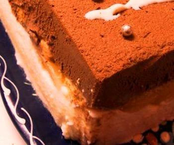 Bavarois chocoqueso: sin gluten y directo al frigo