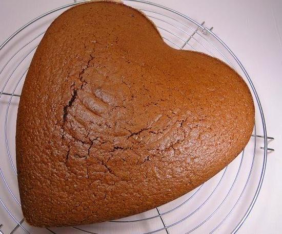 Bizcocho sencillo de cacao ¿Le damos forma?
