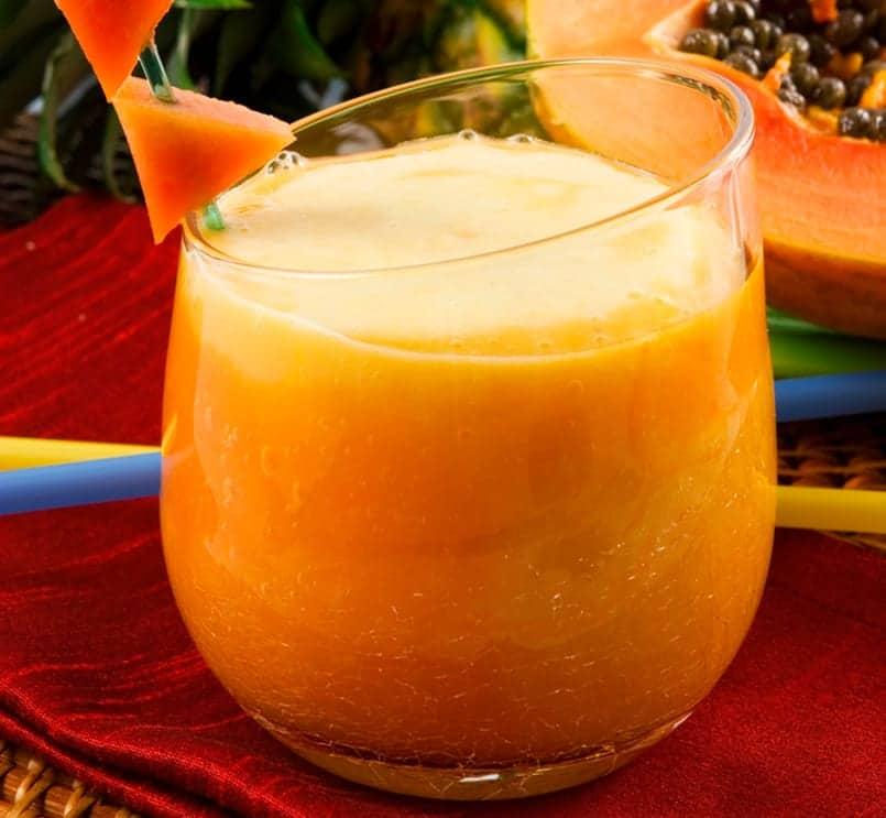 Sorbete de papaya: para sentirse mejor después de comer