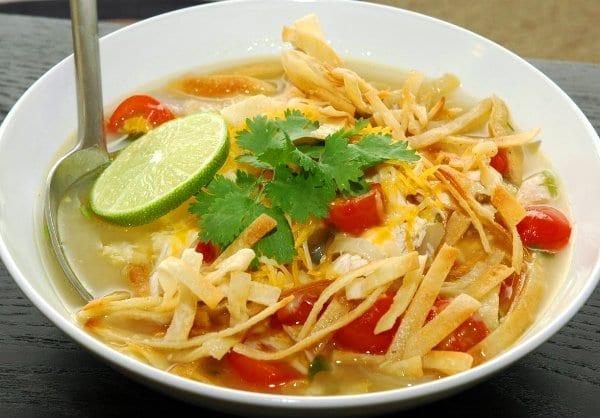 sopa mexicana receta