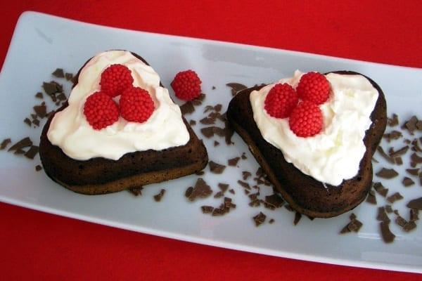 Brownie 0% especial San Valentín