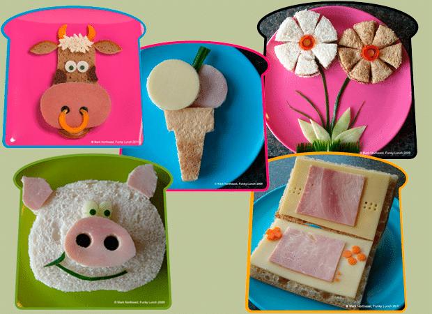 Ideas para hacer los sandwich más divertidos