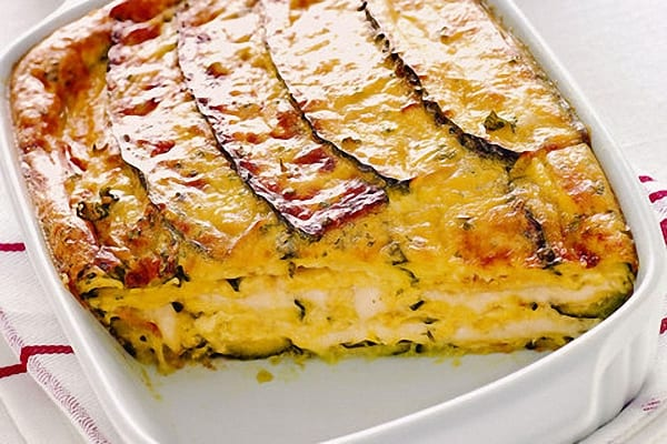 Pastel de berenjenas a la parmesana