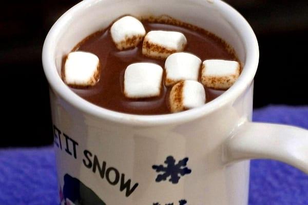"""Chocolate a la taza al """"american style"""""""