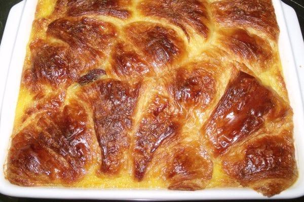Pudin de croissants, aprovéchalos si te sobran