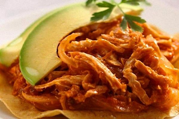 receta de pollo a la mexicana