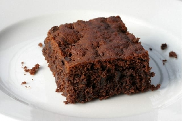 Brownie de chocolate y yogur