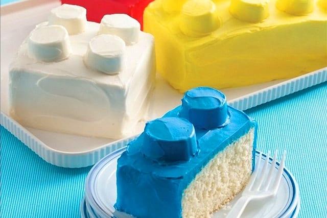 Pastelitos Lego