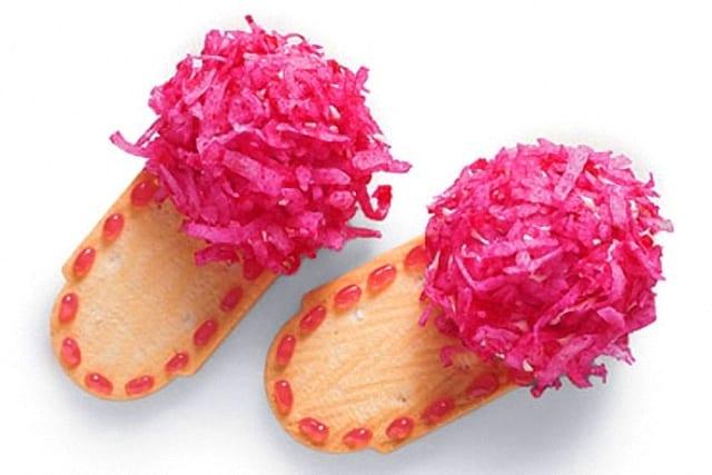 Pantuflas de galleta: postre para el día de la madre