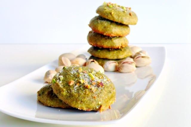 Cookies de pistacho, regalo para el Día de la Madre