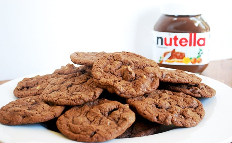 Galletas de Nutella: con 4 ingredientes y en 3 pasos