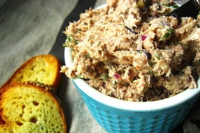 Paté de sardinas frescas