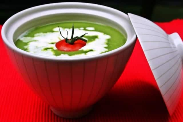 Sopa fría de lechuga: la ensalada con cuchara