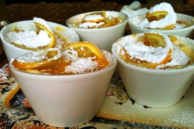 Mini tartas de limón, queso y caramelo: sin horno