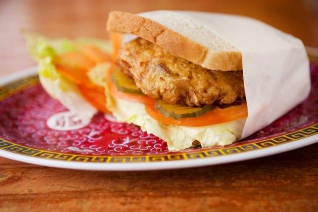 Sandwich de San Pablo, de tortilla