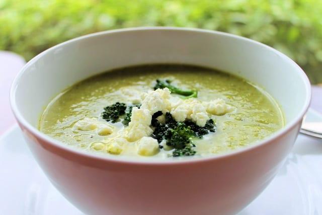 Crema de brócoli y otras verduras