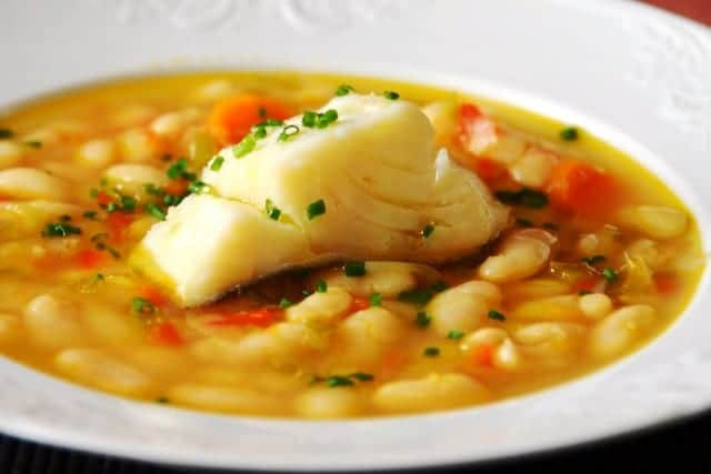 Pochas a la navarra: receta típica de San Fermín