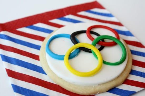 Galletas de las Olimpiadas, ideales para merendar