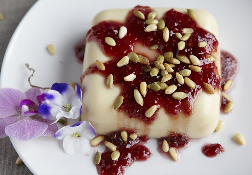 Flan de yogur en olla exprés, un postre rápido