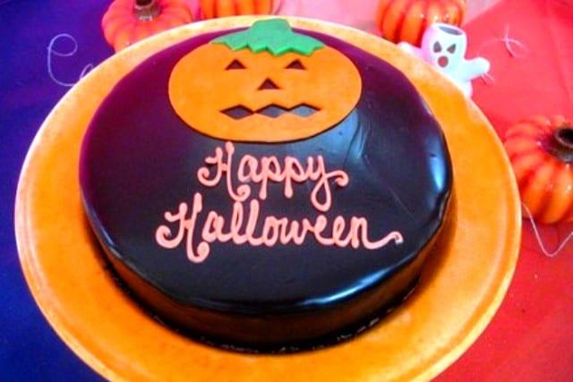 Tarta (o magdalenas) Happy Halloween!