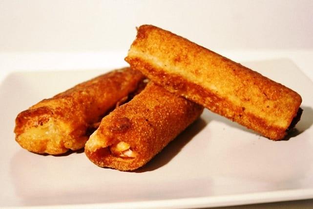 Sandwich mixto en flamenquín