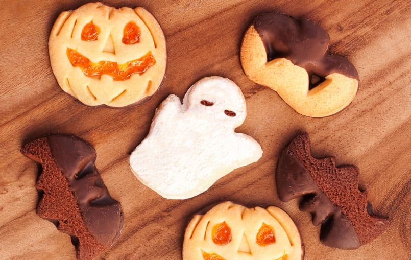 Momias y fantasmas de galleta especiales para Halloween