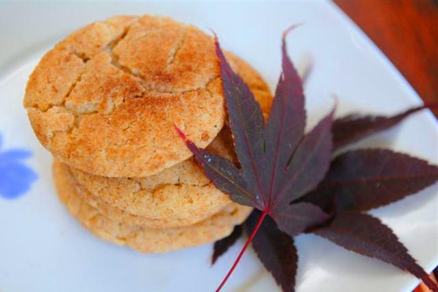 Snickerdoodles: galletas de otoño con especias