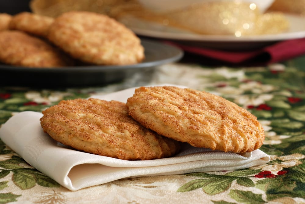 Holiday Snickerdoodles: galletitas especiadas de Navidad