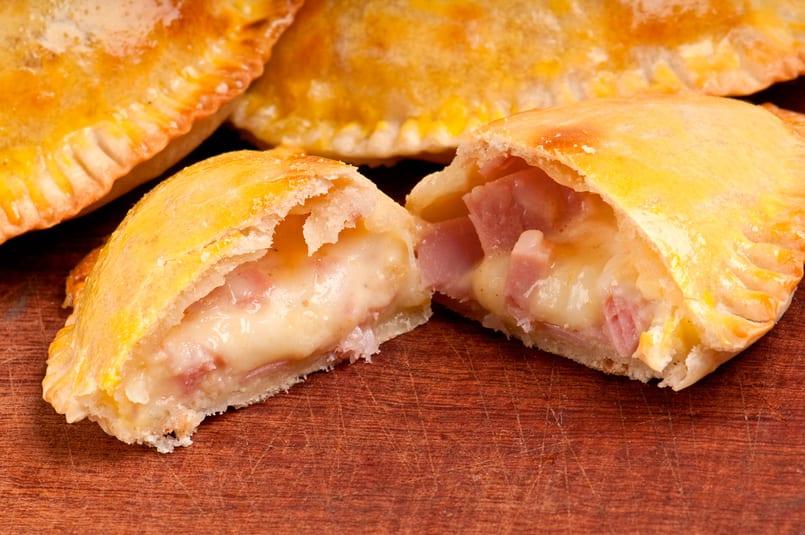 Resultado de imagen de empanadas de jamon queso