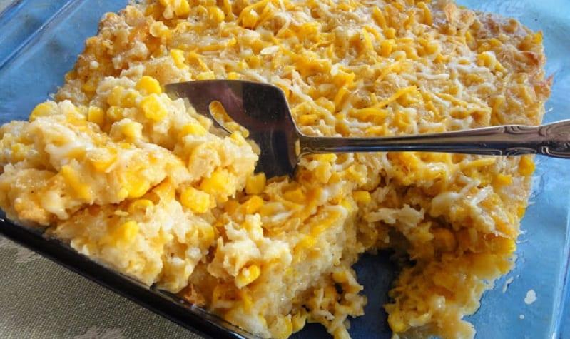 Pudding de maíz al estilo de los Amish