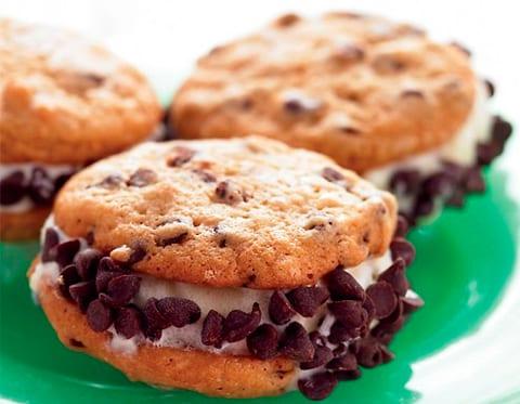 Mini sandwiches de chocolate
