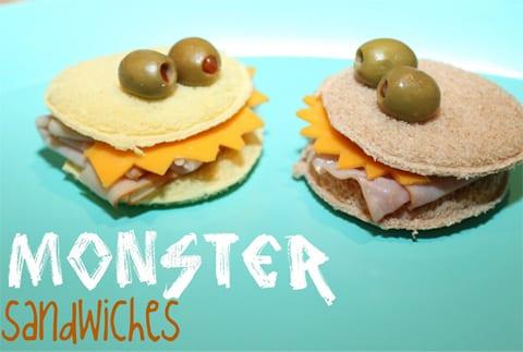 Sandwiches originales para un viernes de fiesta
