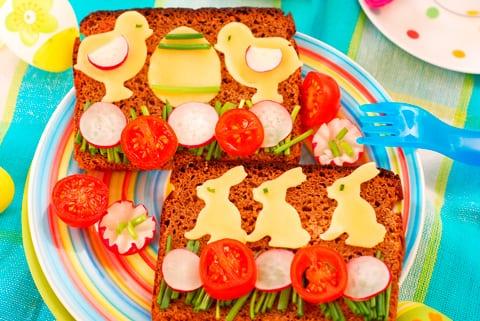Meriendas originales: 10 sandwiches divertidos para sorprender