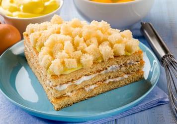 Tarta Mimosa para celebrar el Día de la Mujer