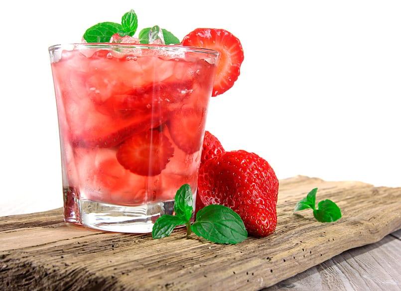 agua_fresas