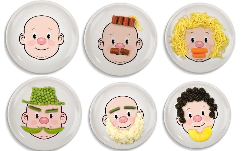 Platos divertidos para hacer más atractivas sus comidas