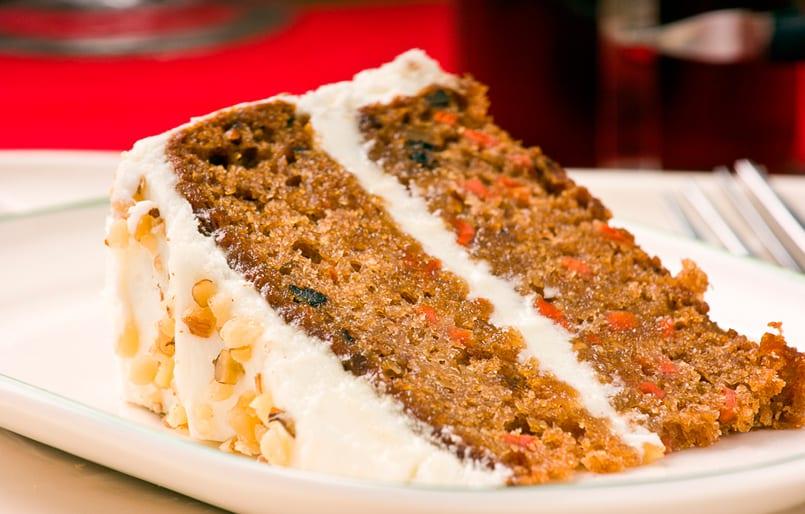 como hacer una tarta de zanahoria