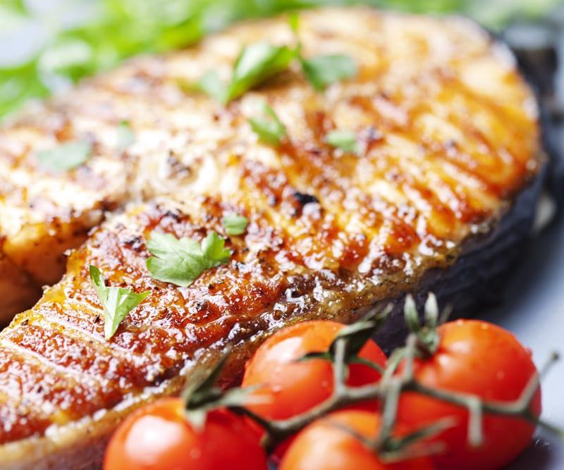 cocina de pescado