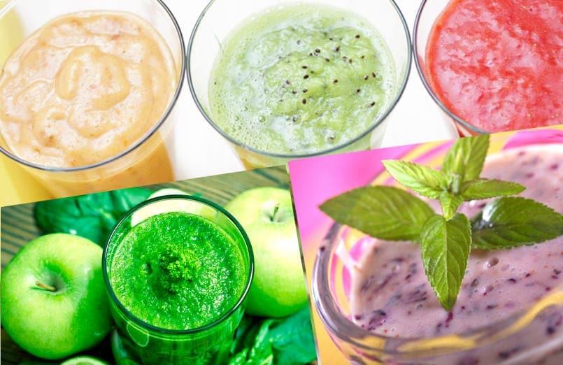 13 smoothies para prepararnos para el verano