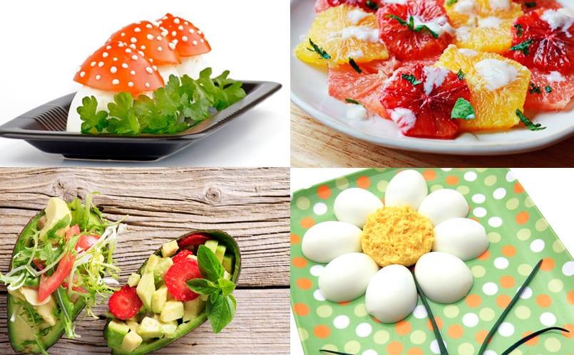 Ensaladas para ni os recetas de cocina para ni os for Cenas sencillas y originales