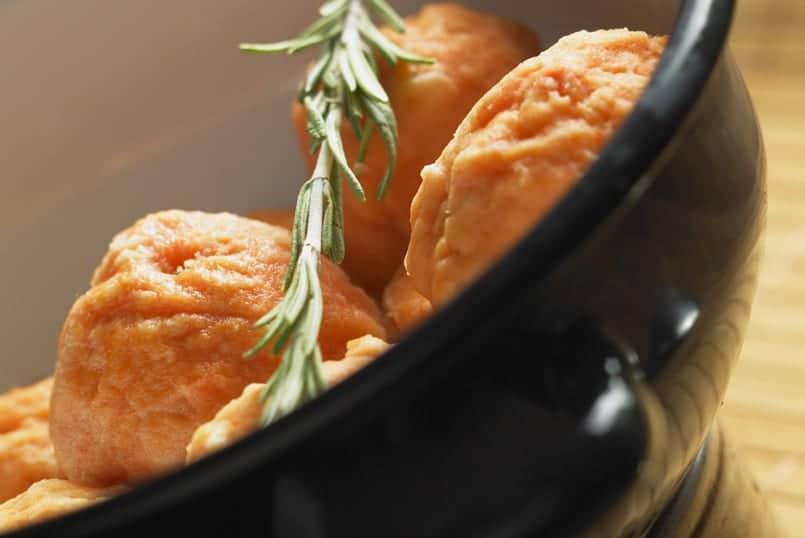 Albóndigas de salmón, ¡pescado sin espinas!