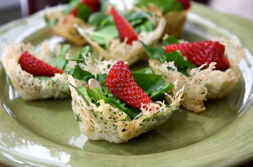 оформления салатов закусок фото