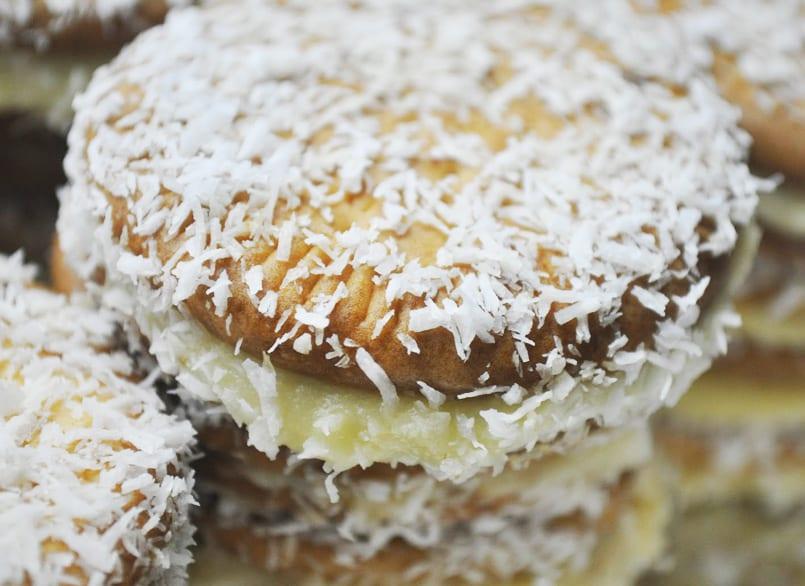 Pastelitos de galleta María, como los de la abuela