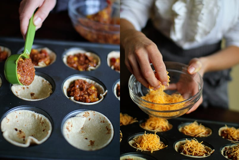 Minipizzas mexicanas especiales para niños