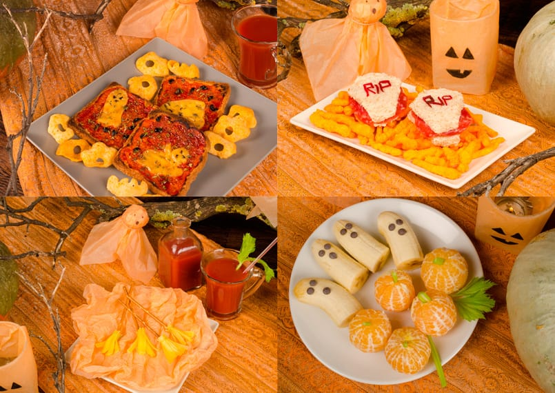 4 ideas originales de aperitivos para Halloween
